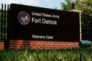 Ft Detrick Frederick Maryland