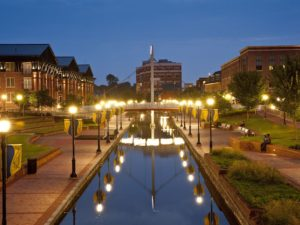 Downtown Frederick Maryland